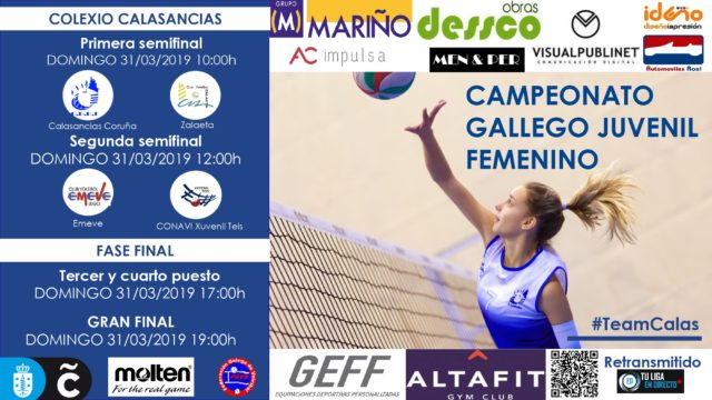 Campeonato Gallego Juvenil Femenino 2019